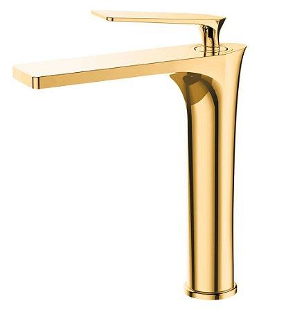 Misturador monocomando Gold para lavatório LX8802G - Lexxa