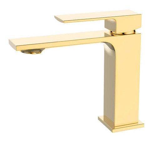 Misturador monocomando Gold para lavatório LX2296G - Lexxa