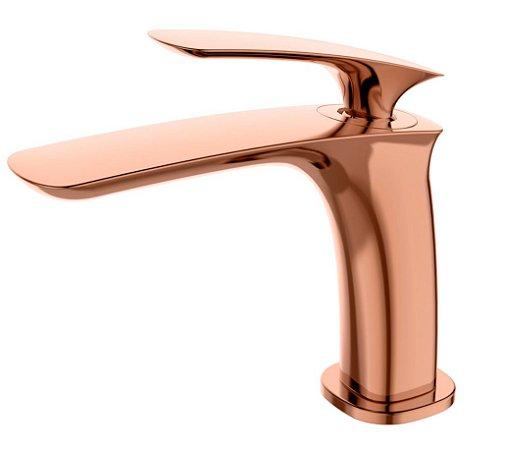 Misturador monocomando Rose Gold para lavatório LX6116RG - Lexxa