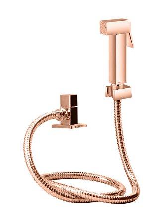 Ducha higiênica com gatilho em metal LX1904RG - Lexxa