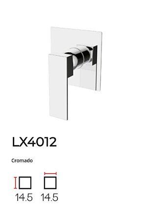 Acabamento para base monocomando de Chuveiro LX4012CR - Lexxa