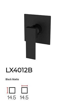 Acabamento para base monocomando de Chuveiro LX4012B - Lexxa