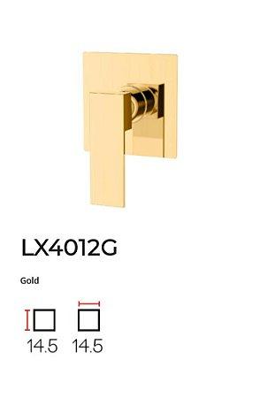 Acabamento para base monocomando de Chuveiro LX4012G - Lexxa