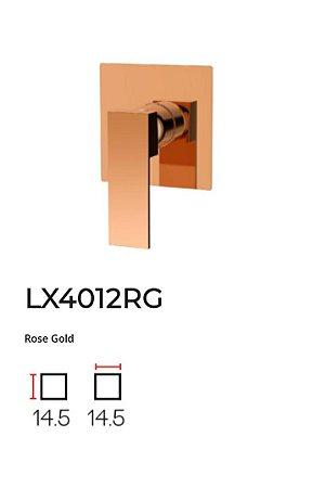 Acabamento para base monocomando de Chuveiro LX4012RG - Lexxa