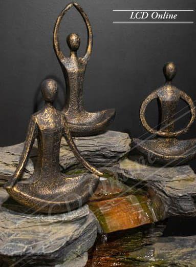 Trio Yoga - Porta joias