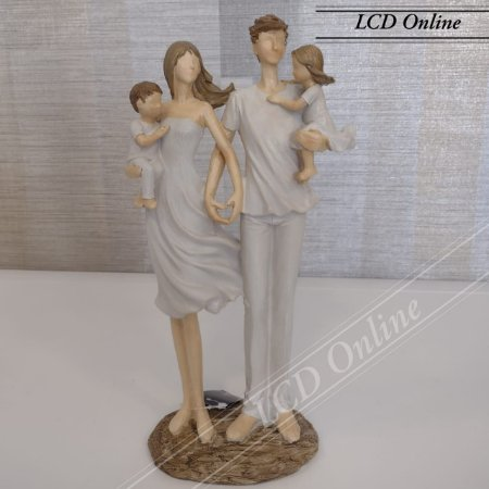 Escultura Família Unida