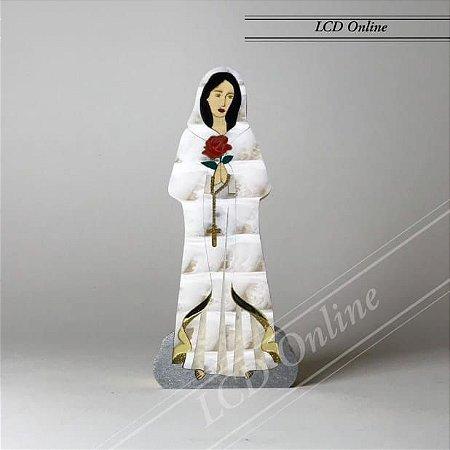 Escultura Nossa Senhora da Rosa Mística - Patrícia Maranhão