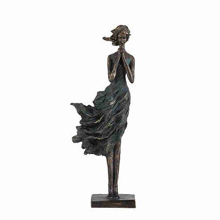 Escultura Rebeca Meditando