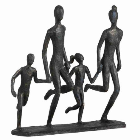 Escultura The Family