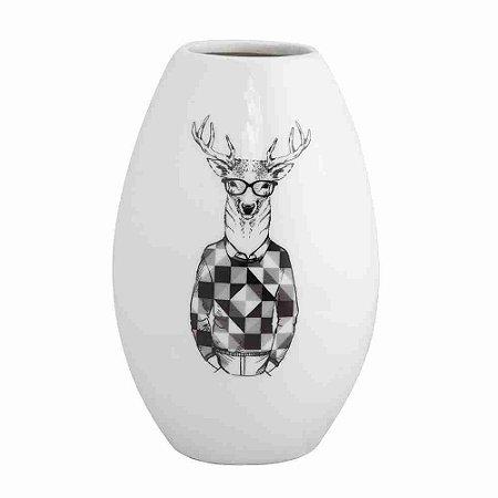 Escultura Vaso Oval Descolado G