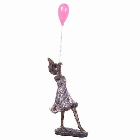 Escultura Girl Ballon