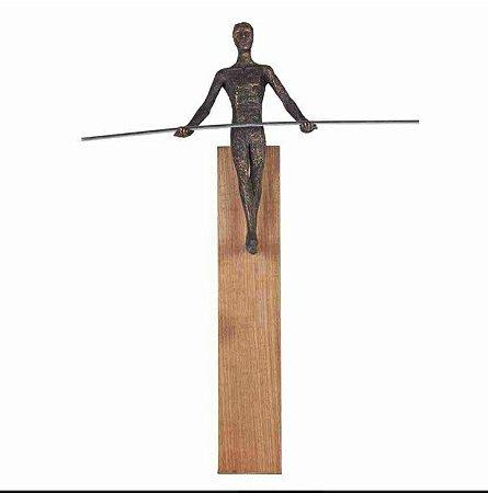 Escultura Corda Bamba
