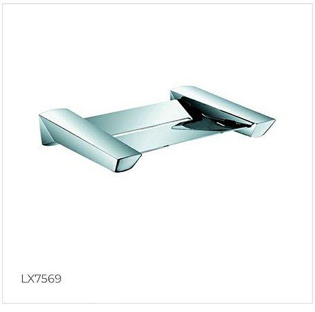 Saboneteira em latão maciço para box LX7569 - Lexxa