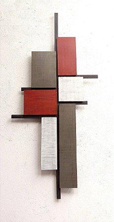Escultura de parede Build - EK72