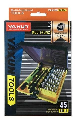 KIT CHAVE YAXUN YX6089 45 PEÇAS
