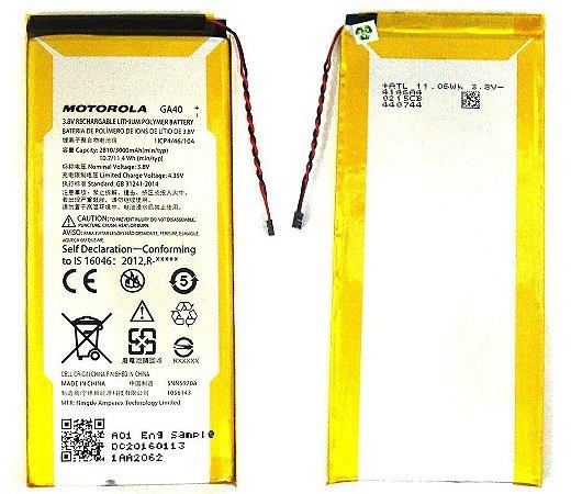 BATERIA MOTOROLA XT1622/XT1626XT1640/XT1642/XT1644 MOTO G4 / MOTO G4 PLUS - GA40 - 3000 mAh 3.8v