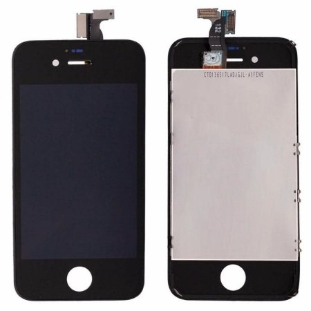 DISPLAY LCD iPHONE 4S PRETO - AA