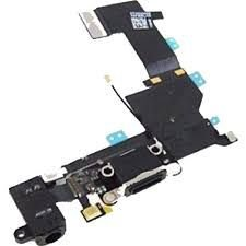 CONECTOR DE CARGA iPHONE 5S PRETO (FLEX DOCK)