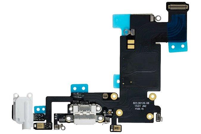 """CONECTOR DE CARGA iPHONE 6G 4.7"""" BRANCO (FLEX DOCK)"""