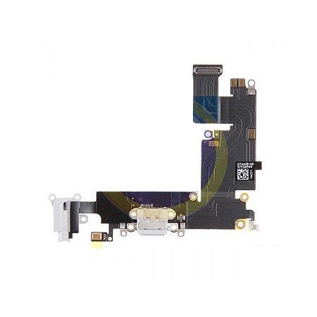"CONECTOR DE CARGA iPHONE 6G PLUS 5,5"" BRANCO (FLEX DOCK)"