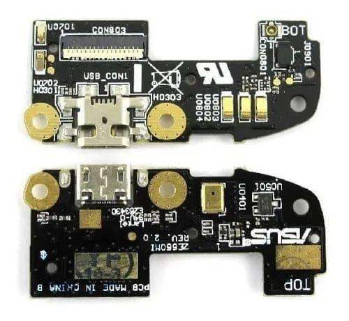 CONECTOR DE CARGA ASUS  ZENFONE 2 Ze551ml  ( FLEX DOCK COMPLETO ) -