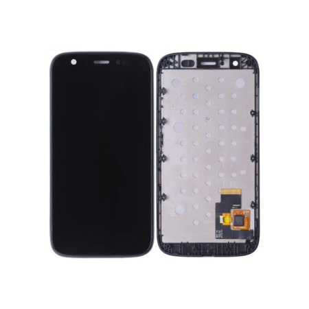 DISPLAY LCD MOTOROLA XT1030/XT1032/XT1033 MOTO G COMPLETO - PRETO