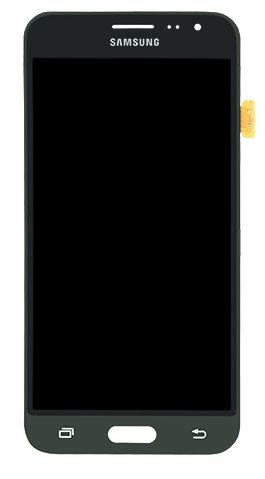 DISPLAY LCD SAMSUNG J3/J320 GALAXY J3 2016 COMPLETO - INCELL - CINZA GRAFITE