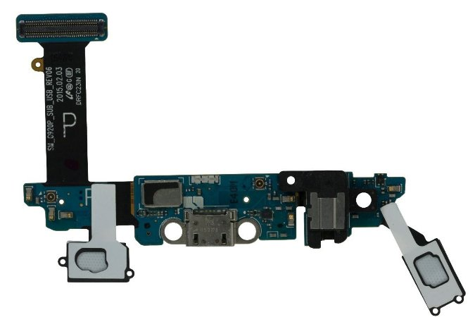 CONECTOR DE CARGA SAMSUNG G920 S6 - DOCK AUDIO/SENSOR (P)