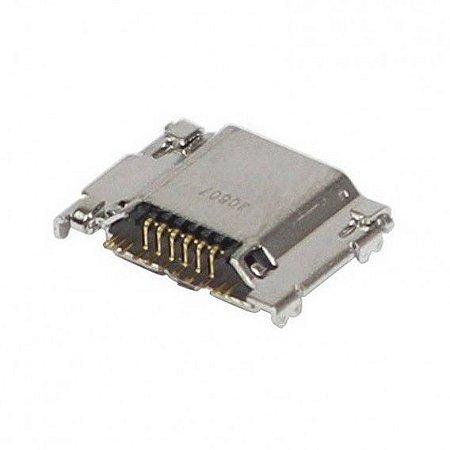 CONECTOR DE CARGA SAMSUNG i9300/T310/T311 GALAXY S3 PARA SOLDA NA PLACA