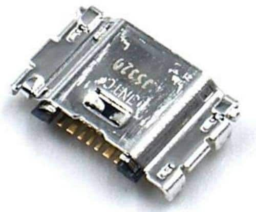 CONECTOR DE CARGA SAMSUNG GALAXY J1/J3/J5/J7/J7METAL / J100/J320/J500/J700/J710 PARA SOLDAR NA PLACA