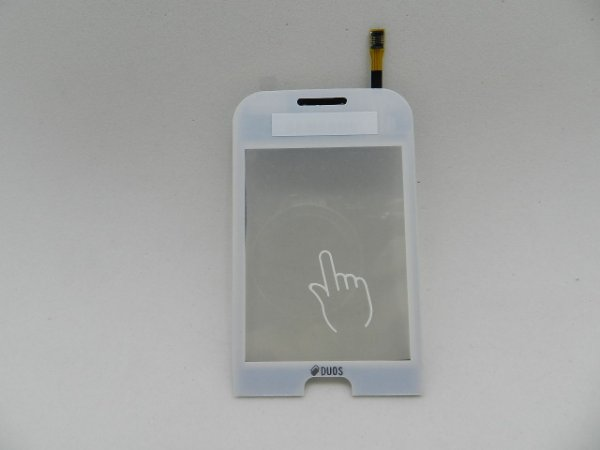 TOUCH SAMSUNG C3312 BRANCO - CHAMP DUOS