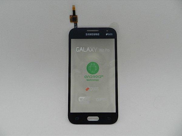 TOUCH SAMSUNG G360 CINZA/GRAFITE - GALAXY WIN 2