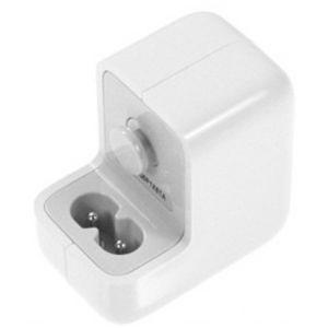 FONTE USB IPAD BIVOLT 10W - S/ CABO BRANCA / CARREGADOR 10W P/ iPAD / iPHONE ( CABO NÃO INCLUSO )