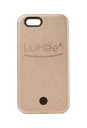 """CAPA LUMEE CASE iPHONE 6G/6S PLUS 5.5"""" / CAPA COM LED P/ SELFIE LUMEE DOURADA"""