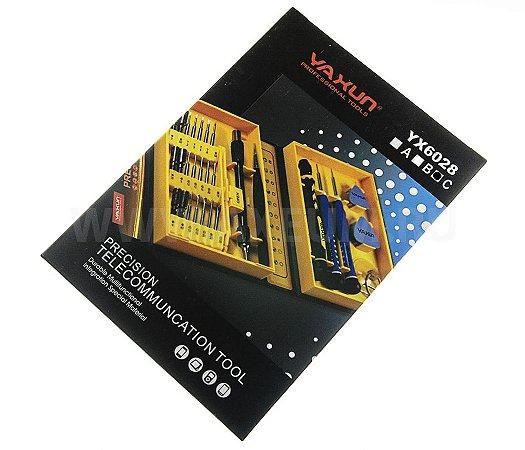 KIT CHAVE YAXUN YX6028C / YX-6028C