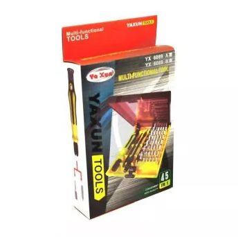 KIT CHAVE YAXUN YX6089A/B / YX-6089A/B ( 45 PÇS )