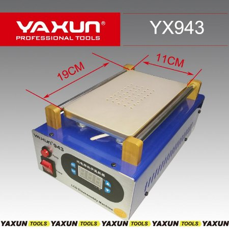 MAQUINA SEPARADORA DE LCD YAXUN YX943 110V ( VÁCUO ) YX-943 110V