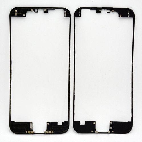 """FRAME LCD/TOUCH iPHONE 6G 4,7"""" PRETO (BENZEL) / ARO iPHONE 6 PRETO ( COM COLA DE FUSÃO )"""