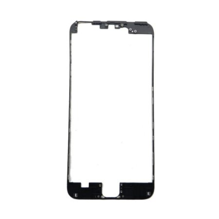 "FRAME LCD/TOUCH iPHONE 6G PLUS 5,5"" PRETO (BENZEL) / ARO iPHONE 6 PLUS PRETO ( COM COLA DE FUSÃO )"