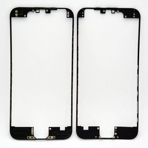 """FRAME LCD/TOUCH iPHONE 6S 4,7"""" PRETO (BENZEL) / ARO iPHONE 6S PRETO ( COM COLA DE FUSÃO )"""