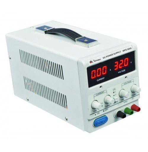 FONTE DIGITAL MINIPA  MPS 3005 - 30V/5A - 110V / 220V