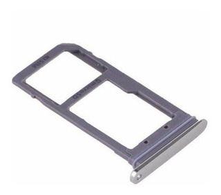 GAVETA DOOR SAMSUNG G930 S7 GAVETA HIBRIDA / CHIP SIM /MICRO SD GALAXY S7 - PRATA