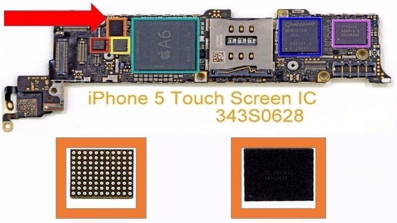 iC TOUCH iPHONE 5G - iC DO TOUCH U2402 (343s0628)