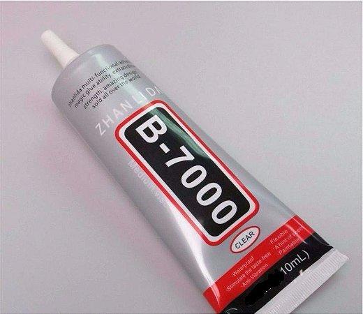 COLA PROFISSIONAL B7000 / B-7000 TUBO 10 GRAMAS / COLA B7000 PEQUENA 10gr