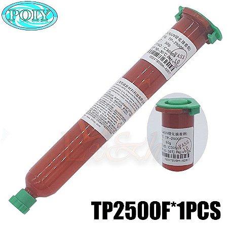 COLA UV MATECH TP2500 / TP-2500 CILINDRO VERMELHO - 50 GRAMAS ( TP2500 ) UV LOCA