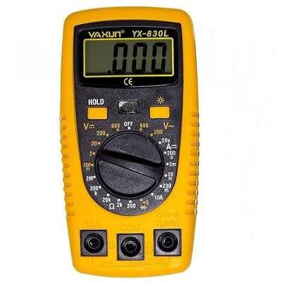 Multímetro Digital YAXUN DT-A830L