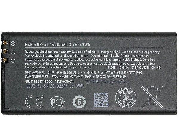 BATERIA NOKIA BP5T - N820 / N825 - LUMIA / BATERIA BP-5T