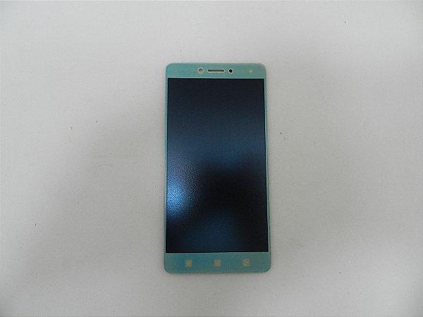 """DISPLAY LCD LENOVO VIBE K6 PLUS DOURADO K53b36 5,5"""" / TELA LENOVO K53b36 K6 VIBE PLUS COMPLETA DOURADA"""