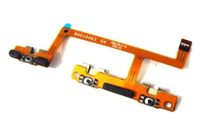 CABO FLEX MOTOROLA MOTO X PLAY T1561/XT1562/XT1563 POWER ON/OFF E VOLUME