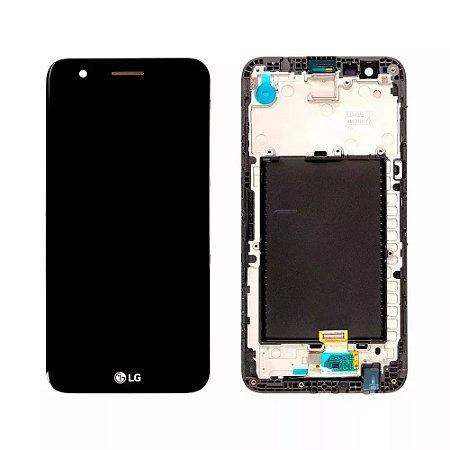 DISPLAY LCD LG MS250  K10 2107 PRETO / TELA LG K10 2017 MS250 COMPLETA PRETA
